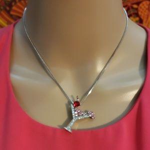 Premier jewelry Martini/Cosmopolitan necklace